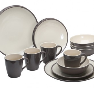 Burslem Melamine Set 16 piece