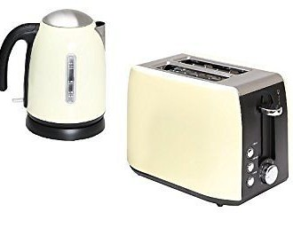 quest kettle toaster cream