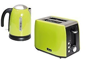 quest kettle toaster green