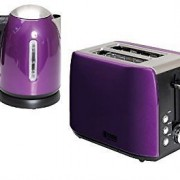 quest kettle toaster purple
