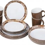 chocolate dinner set