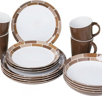 chocolate dinner set