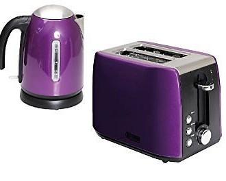 quest kettle toaster purple