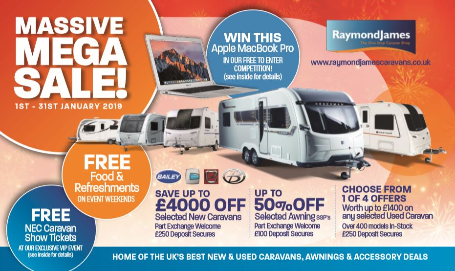 Raymond James Caravans The One Stop Caravan Shop