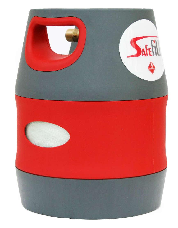 Safefill Refillable Gas Bottle 5kg Raymond James Caravans