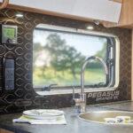 Pegasus Grande SE - Branded Perspex Kitchen Splashback