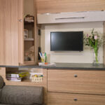 Pegasus Grande SE Ancona Rear Lounge Sideboard & Storage